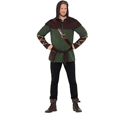 Smiffys Robin Hood Herren Kostüm Karneval Jäger Mittelalter
