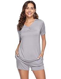 063d07ec033a22 Suchergebnis auf Amazon.de für  Pyjama-Shorts - Damen  Bekleidung