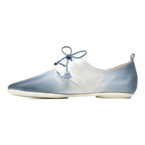 Femmes Chaussures à lacets blau-kombi 917-DG7123 DENIM Denim