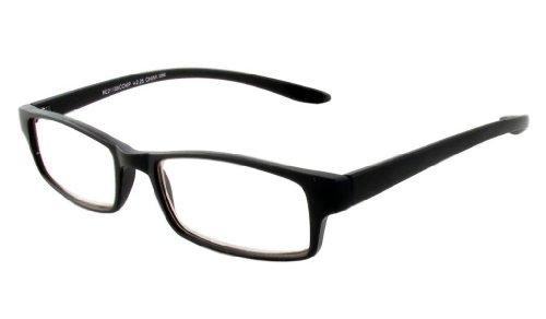 Calabria 21139 Computer Lesen Hals-Hängen Eyeglass In; +1.75 1.75 52 klar Schwarz