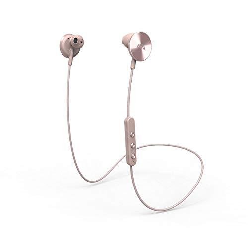 i.am+ BUTTONS Bluetooth Kopfhörer (Bluetooth 4.0, 6 h Akku, magnetische Disks) Rosa