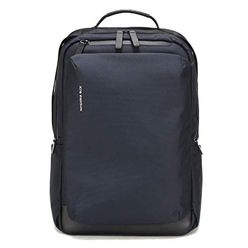 MANDALINA Duck Unisex Casual Business Rucksack Schule Korea Big Star 'Y-Star Lee Jong-Seok' Rucksack Bag Laurel LRT0107X 38,1 cm Laptop Storage Nylon 95% Kuh Leder 5% Dunkelblau -
