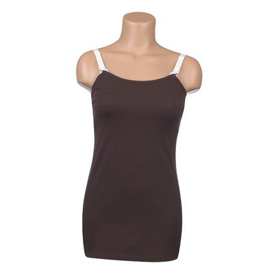 Undercover Mama Tank Top Brown X-Small
