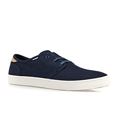 TOMS Herren 10013273 Slip On Sneaker, Blau (Navy 000), 45 EU (Toms Slip Herren Schuhe On)