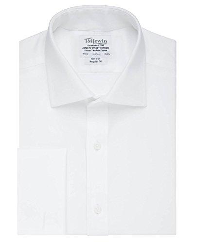 tm-lewin-hommes-ne-se-repasse-pas-de-serge-coupe-double-manchette-pour-homme-blanc-blanc-39-cm