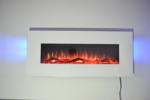 TruFlame 2019 NEW PREMIUM PRODUCT 50inch White Wall