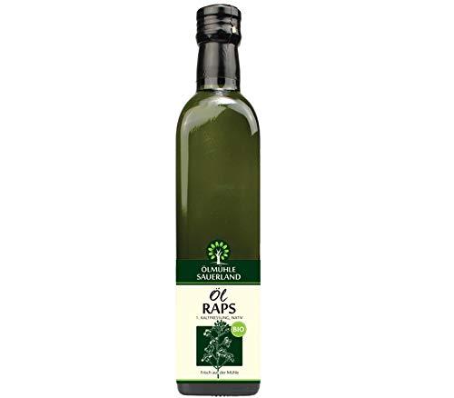 ÖLMÜHLE SAUERLAND - Rapsöl BIO kaltgepresst nativ (500 ml)