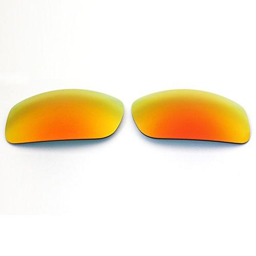 Polarisierte Ersatzgläser für Spy Optic Clash Sonnenbrille Fire Red