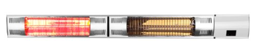Firefly 3.000 Watt Infrarot-Heizstrahler (Goldröhre), Terrassenheizung Wandmontage, 2 Leistungsstufen, inkl. Fernbedienung - 2