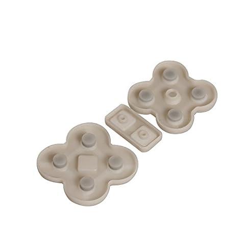 Timorn Remplacement bouton de caoutchouc en caoutchouc pour Nintendo DS Lite NDSL (20 jeux)