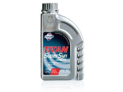 Fuchs 600721954 Motoröl Titan Supersyn Longlife 5W-40 4L