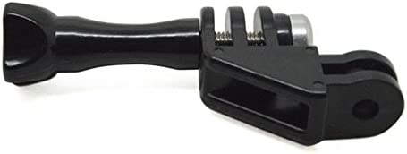 J 90 Degree Direction Adapter Elbow Mount + Thumb Screw for Camera Gopro Hero 1 2 3 3+ 4 Sprots Camera Sjcam Sj4000 sj4000 WiFi Sj5000 Sj5000x Xiaomi Sports Action Camera Black