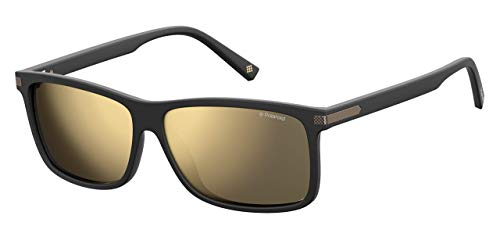 Polaroid Herren PLD 2075/S/X Sonnenbrille, Mehrfarbig (Mtt Black), 59