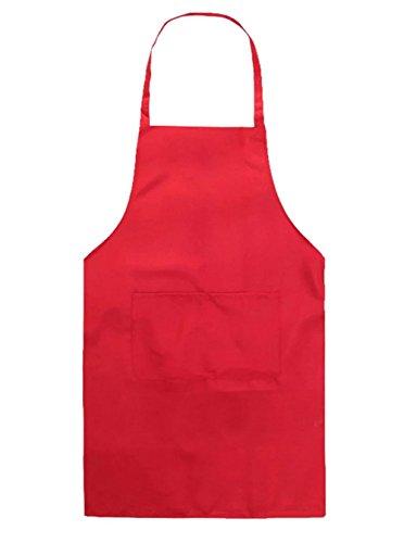 WDILO - Delantal cocina niños color liso fabricado