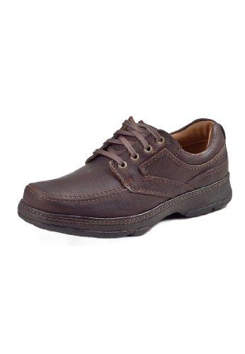 clarks-star-stride-herren-derby-schnurhalbschuhe-braun-brown-leather-43-eu-9-herren-uk