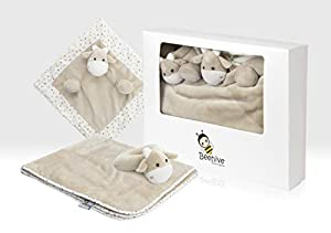 Beehive Toys Set de Regalo para bebé, Color Beige (Beehive Toy Factory GB140231B)