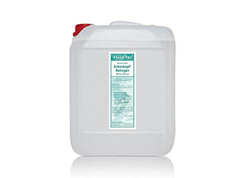 1 x 5 Liter Kanister Fluid-Tec Scherkopfreiniger Nachfüllflüssigkeit zum Nachfüllen für Braun Clean&Renew Synchro Activator und Pulsonic Series 3/5/7/9