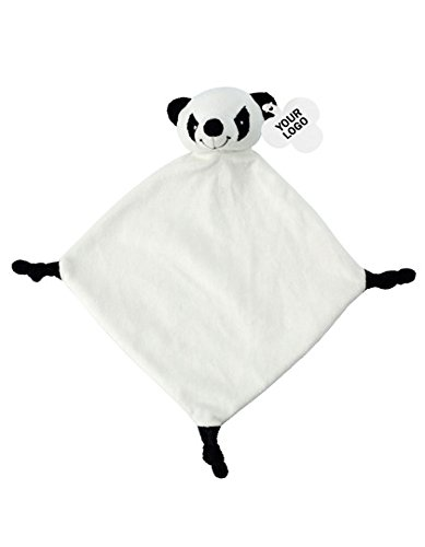 Schnuffeltuch Panda Bär | Kuscheltuch | Trösterchen | für Jungen und Mädchen | waschbar