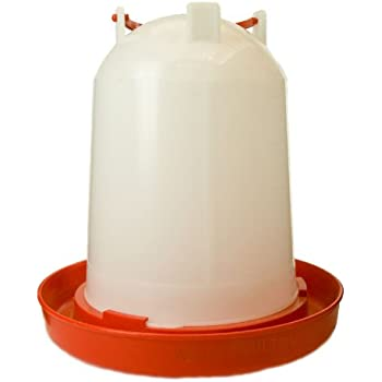Wells Poultry Equipment - 6 Litre Plastic chicken drinker with handle