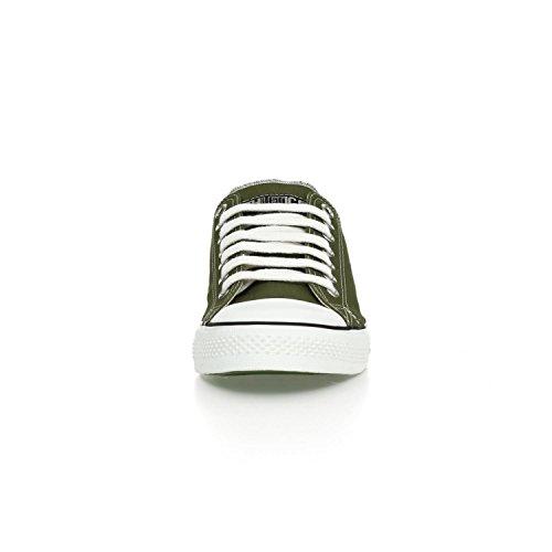 Ethletic Sneaker LoCut – camping green / white – nachhaltig, fair & vegan - 6