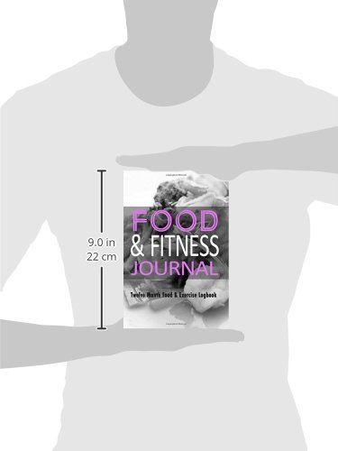 Food-Fitness-Journal-12-Month-Food-Exercise-Logbook-Complete-Food-Logbook-With-Exercise-Journal-Book-Combined-Food-Journals