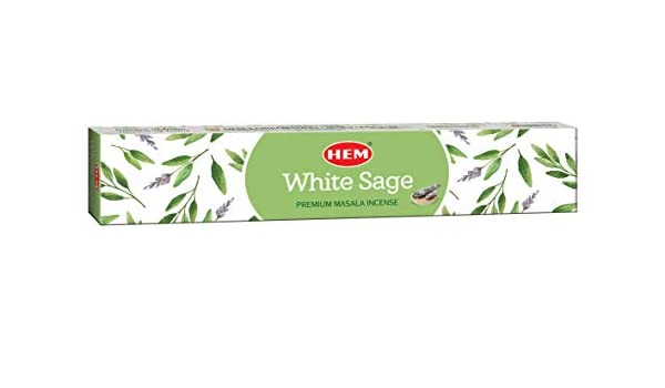 Each 15 GMS Best Purifying and Cleansing Masala Incense Stick Incense Pack of 12 HEM New White Sage Masala Incense Sticks