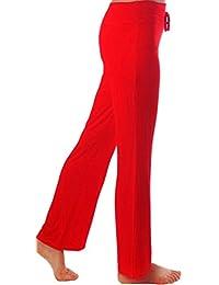 HOEREV Doux Modal Minceur Lounge Pantalon yoga pantalon de pyjama femmes Pant
