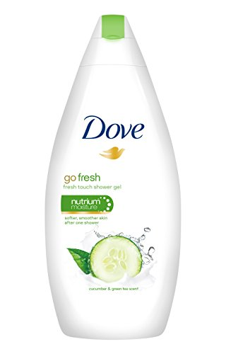 Dove - Fresh Touch, Gel de ducha, 500 ml - [paquete de 3]