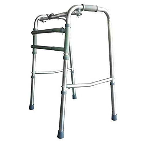Mobiclinic Andador para Ancianos sin Ruedas | Aluminio Ultraligero | Regulable en Altura| Plegable | Asistencia de Movilidad | Peso máximo soportado 100 kg | Modelo Mezquita