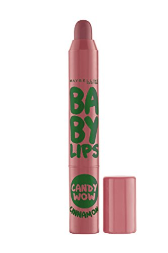 Maybelline New York Baby Lips Candy Wow Lip Balm, Cinnamon, 2g