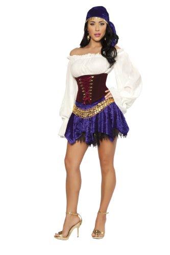 Zigeuner-Kostüm von Roma Gr. S, Siehe Abbildung