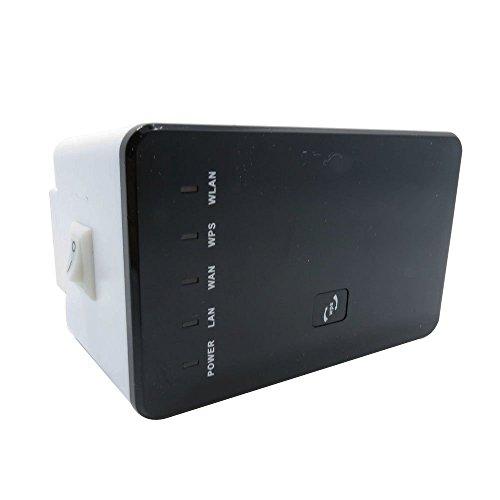 Wuluming Wireless Router, xingdongchi 300Mbps Multifunktions-Mini Wireless-N Wifi Range Extender Signal Booster 802.11N/b/g Netzwerk Repeater/Router/AP mit WPS