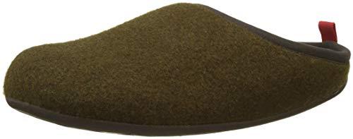CAMPER Herren Wabi Pantoffeln, Grün (Dark Green 300), 42 EU -
