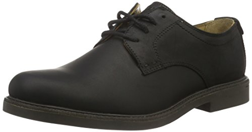 Sebago Turner Lace UP, Scarpe Oxford Uomo, Nero (Black Leather WP), 42 EU