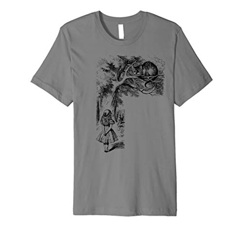 Cheshire Cat Shirt Alice Lewis Carroll in Wonderland Shirt