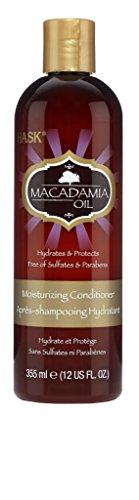 Hask Acondicionador Hidratante al aceite de Macadamia 355ml