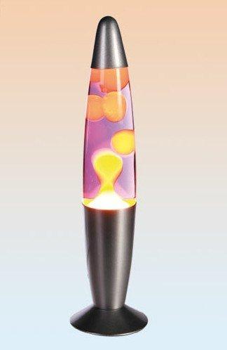 Lavalampe MOTION LAMP 57/1263 gelb/lila -