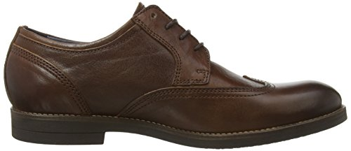 camel active  Cuckoo, Chaussures à lacets homme Braun (dark Brown Leather)