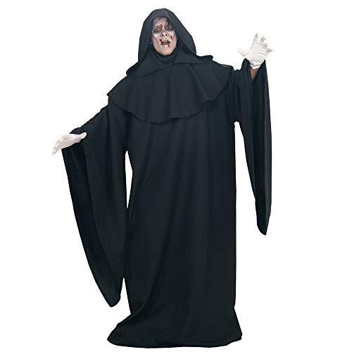 Halloween kostüm, Halloween Cosplay kostüm Halloween Cosplay Horror Kostüm,Halloween Karneval Schwarz Einfache Robe Teufel Kostüm Bühnenkostüm (Einfach Schwarzer Teufel Kostüm)