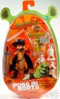 Shrek 2 Puss In Boots, 3 Blind Mice And Gingerbread Man Action Figure by Hasbro