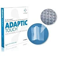 ADAPTIC Touch non-adhering Silikon Verband 5cm x 7,6cm (x10) preisvergleich bei billige-tabletten.eu