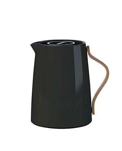 Stelton Emma Tee 1 L. -schwarz Isolierkanne, Kunststoff, 17 x 14 x 19.5 cm