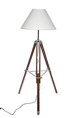 Riesige XXL Stativlampe Stehlampe im Dreibein Stativ Look Style, F