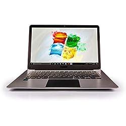 """14.1"""" Full HD Windows 10 Laptop - 4GB RAM, T90B+ Pro Model Lapbook, Intel 64-bit USB 3.0, 5GHz WIFI (Dual-Band WIFI) 2x WIFI speeds, Supports 256GB tf-card and 1TB HDD (64GB)"""
