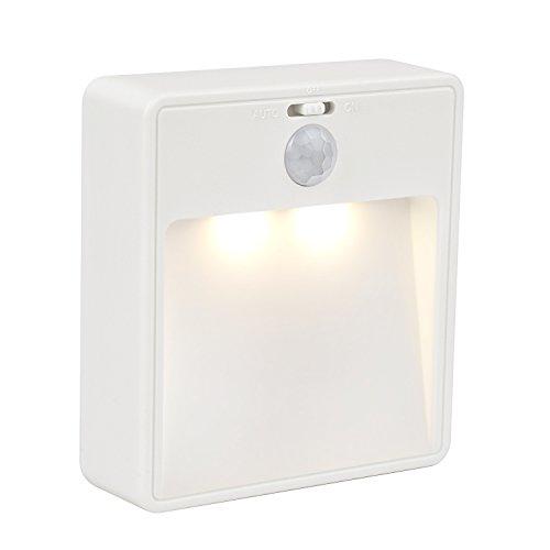 Classic Stick (JESWELL Automatische LED Sensorleuchte mit Bewegungsmelder, Drahtlose LED-Nachtlicht für Flur, Treppenhaus, Schlafzimmer, Kleiderschrank, Wandschrank, Stick überall, Ein/Aus Schalter [Classic])
