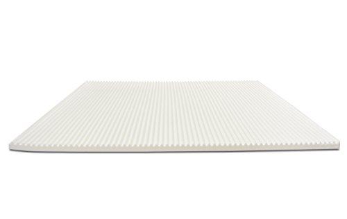 Baldiflex-Topper-Correttore-Materasso-in-Memory-Foam-Wave-Fodera-Sfoderabile-ergonomico-antiacaro-h-6-cm