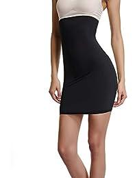 Joyshaper Faja Falda para Mujer, Shapewear de Cintura Alta para el Control de Barriga, Vestido Faja Moldeadora de Cintura para Adelgazar, Moldeador Corporal sin Costuras