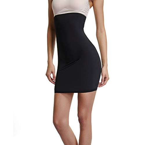 812f4ba7d33 Joyshaper Faja Falda para Mujer, Shapewear de Cintura Alta para el Control  de Barriga,
