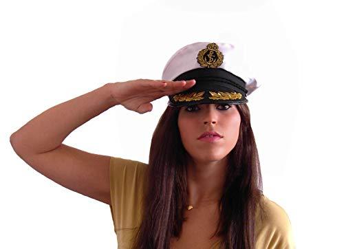 EL CARNAVAL Hut oder Mütze Captain Marinero Urlaub am Meer