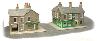 Metcalfe PN117 N Gauge Corner Shop & Pub Card Kit - for sale  Delivered anywhere in Ireland